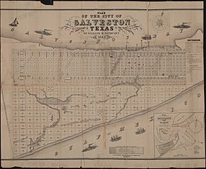 Plan of the City of Galveston, Texas
