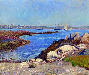 Portsmouth Harbor New Hampshire William James Glackens