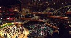 St Davids Hall Interior