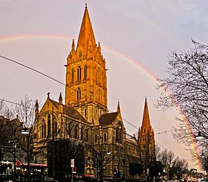 St Paul's Cathedral, Melbourne, AU