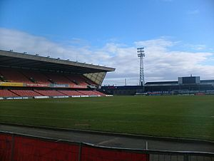 Windsor Park football stadium - Empty