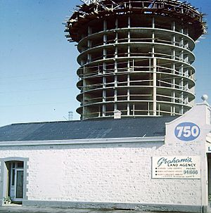 Atlantic Tower During Development in the 1970's