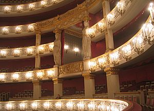 München Nationaltheater Interior