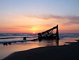 Peter iredale sunset edited1
