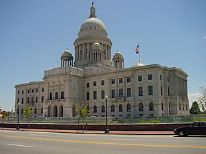 Rhode Island State Capitol (north facade)