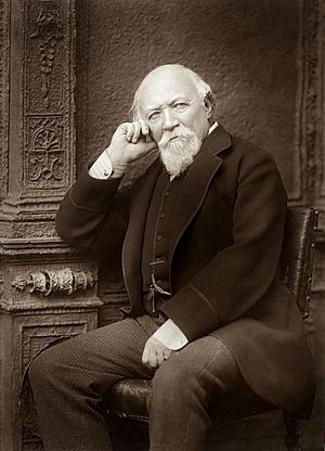 Robert Browning in about 1888