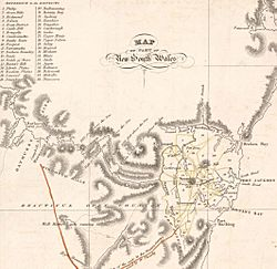 Sydney districts 1824