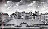 The château de Lunéville in the 18th century as the residence of the Dukes of Lorraine