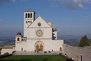 Assisi San Francesco BW 1