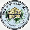 Official seal of Winslow, Maine