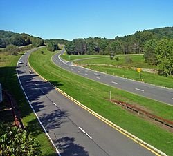 Taconic State Parkway in Ghent
