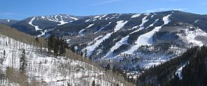 Vail front side