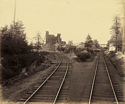 The Lattimer Colliery, photographed circa 1890 by William H. Rau