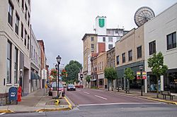 Main Street in downtown Beckley in 2007.