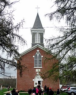 Church of the Nativity of the Blessed Virgin Mary (Mattingly Settlement, Ohio) - exterior