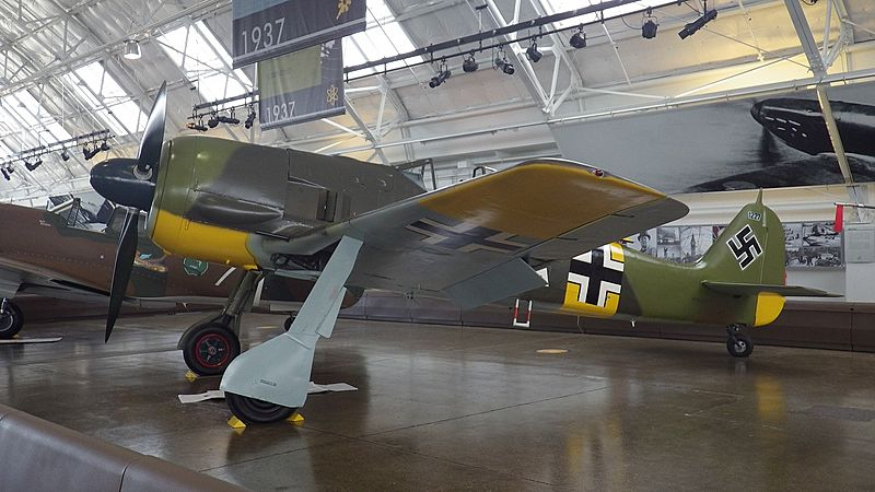 Fw190A-5 of Flying Heritage Collection