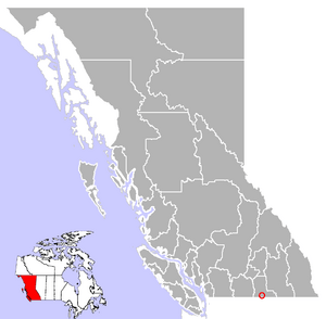 Where Greenwood is located in British Columbia