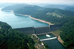 List of dams and reservoirs in West Virginia Facts for Kids