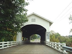 Unity Bridge over Fall Creek