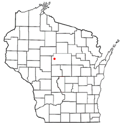 Location of Frankfort, Wisconsin