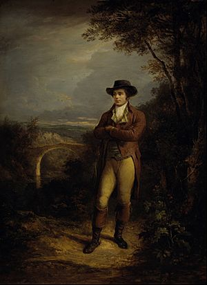 Alexander Nasmyth - Robert Burns, 1759 - 1796. Poet - Google Art Project