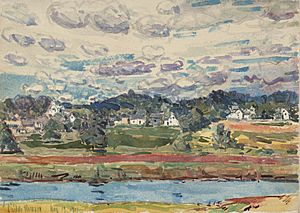 Hassam, Childe, Newfields, New Hampshire, 1917