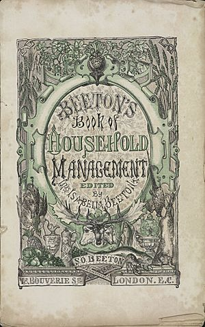 Isabella Beeton - Mrs Beeton's Book of Household Management - title page