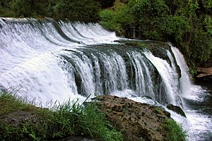 Maraetotara Falls, Hawkes Bay, New Zealand