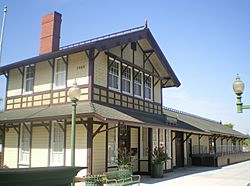 Southern Pacific Railroad Depot, Whittier
