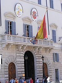 Spanish embassy to the Holy See and the Sovereign Military Order of Malta