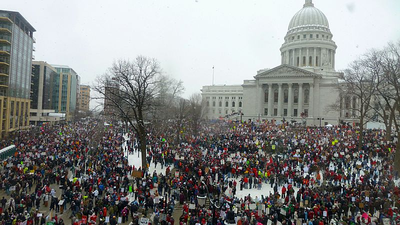 2011 Wisconsin Budget Protests 1 JO