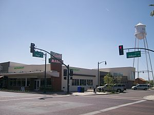 Downtown Gilbert - SWC Gilbert & Page - 2009-03-23