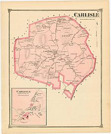 Middlesex county 1875 - carlisle - p45 500