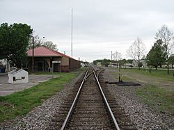 Stanley Tubbs Memorial Library (Former Missouri Pacific Railroad Depot)