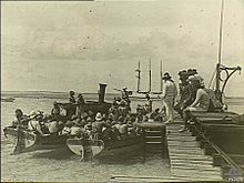 WW1 Landing at Direction Island