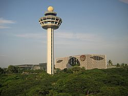 Airport of Singapore, Crowne Plaza.JPG