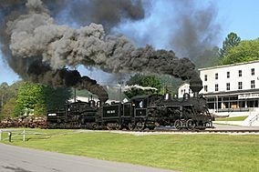 Cass Scenic Railroad State Park - Heisler 6 and Shay 11.jpg