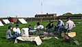 Fort McHenry camp