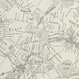 MapNewtown1852LargeDetail-NYPLfromRiker