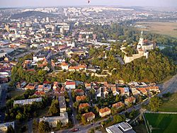 Nitra view from above
