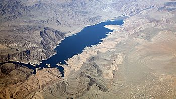 Pearce Ferry & upper Lake Mead