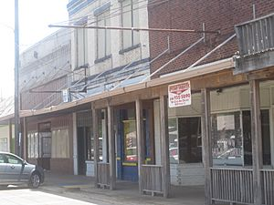 Revised photo of downtown Coushatta, LA IMG 2407