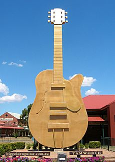 Big GoldenGuitar Tamworth