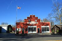 Hamburg Township Michigan former Fire Station