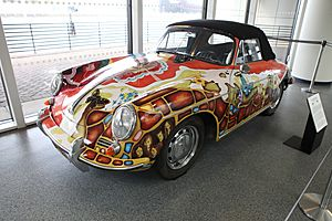 Janis Joplin's Porsche - Rock and Roll Hall of Fame (2014-12-30 11.13.10 by Sam Howzit)