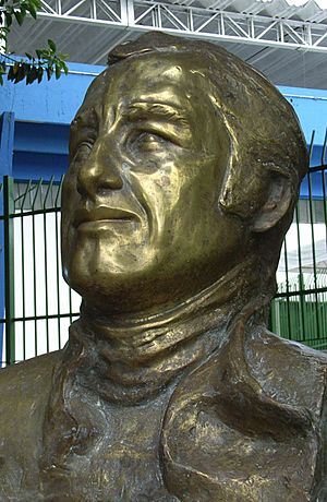 Jose Carlos Pace bust
