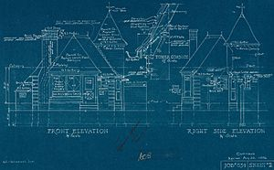 Joy Oil gas station blueprints