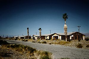 Unfinished Houses in Salton City