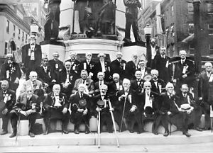 1911 - First Defender Reunion at Center Square