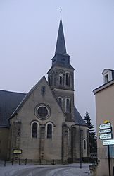 The parish church.